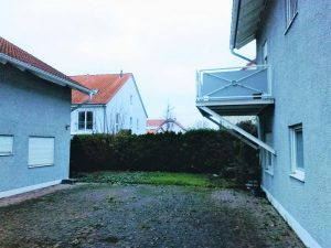2. Reihe Haus Vorderhaus