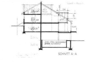 Schnitt A- A